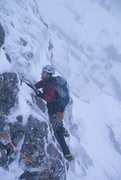 Rock Climbing Photo: Starting out on the crux traverse  Photo by Alasta...