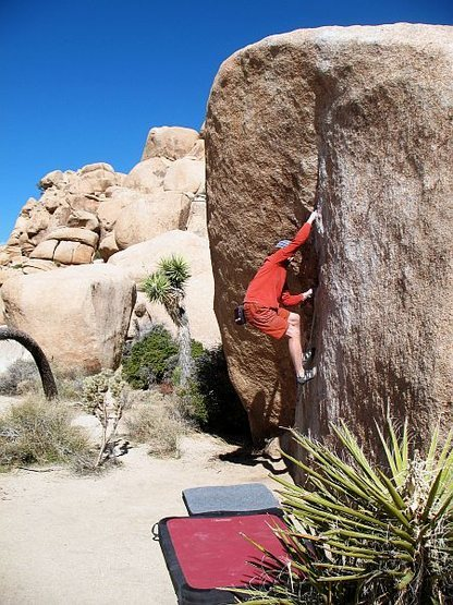 The Chube (V0+), Joshua Tree NP