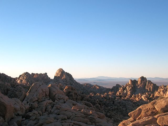 The North Wonderland from the south, Joshua Tree NP