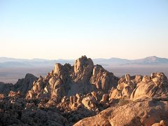 Rock Climbing Photo: Looking north to the North Wonderland on a clear d...