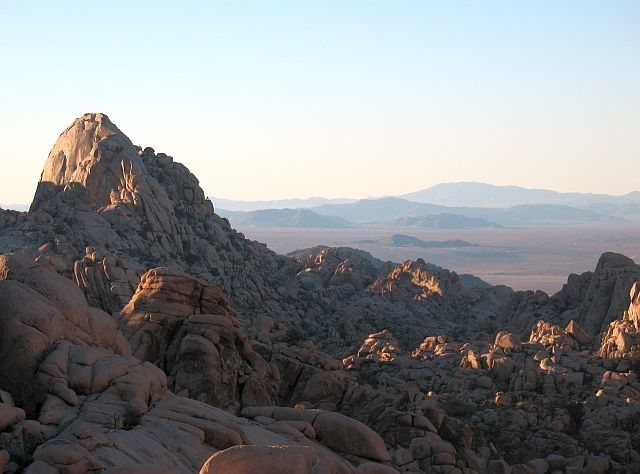 The Tombstone from the south, Joshua Tree NP