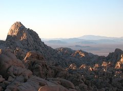 Rock Climbing Photo: The Tombstone from the south, Joshua Tree NP