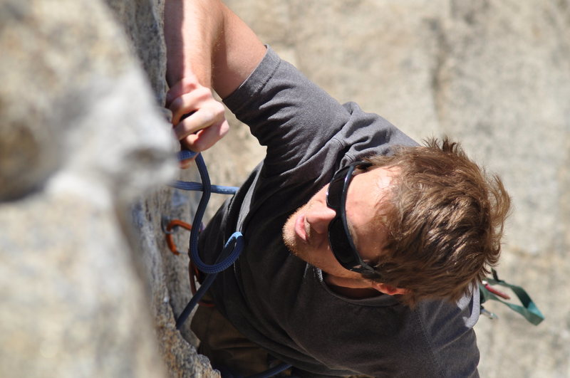 Rock Climbing Photo: Jesse cruising up Stemsation