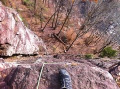 Rock Climbing Photo: Ralph Stover State Park @ Great Buttress