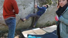 A shot showing the third move in Unnamed Crack of the beta we used.