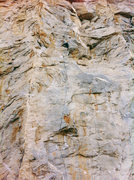 Rock Climbing Photo: Me climbing at the Riverside Quarry.