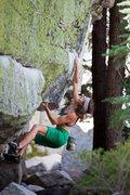 Rock Climbing Photo: Steel Fingers Traverse.  Photo: Ben Ditto