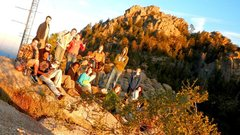 Rock Climbing Photo: Group in Kingman