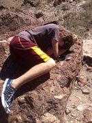 Rock Climbing Photo: Nap time