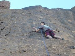 Rock Climbing Photo: Kingman climb
