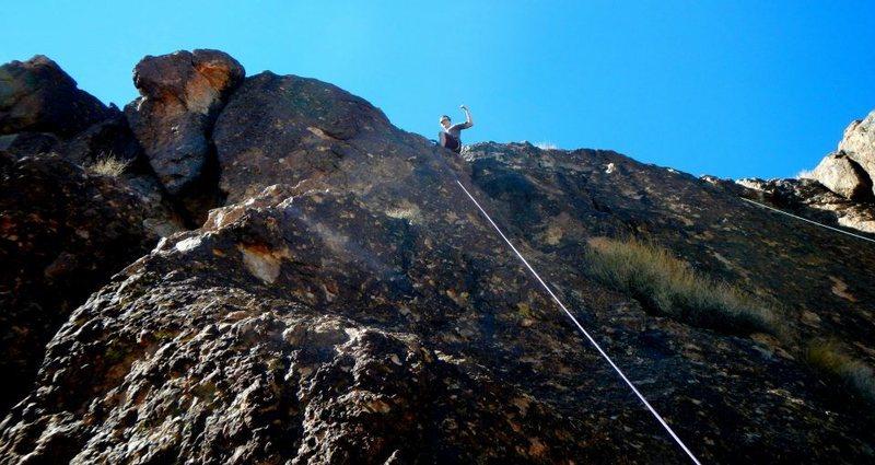 Kingman climb