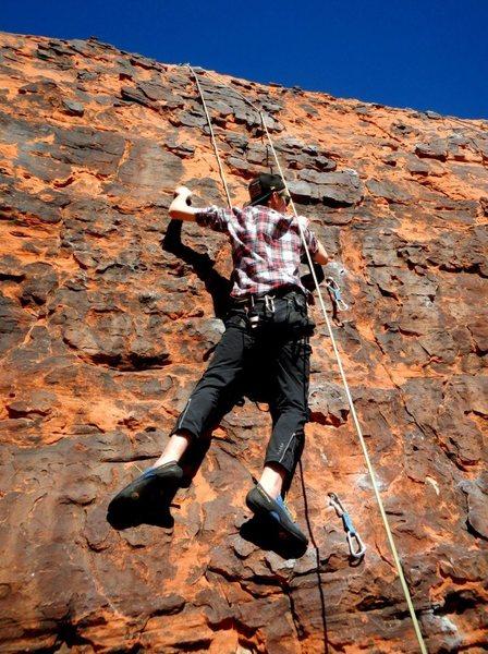 Red Rocks climb