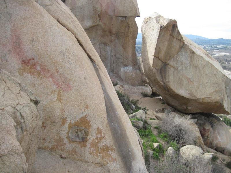 Rock Climbing Photo: Funky