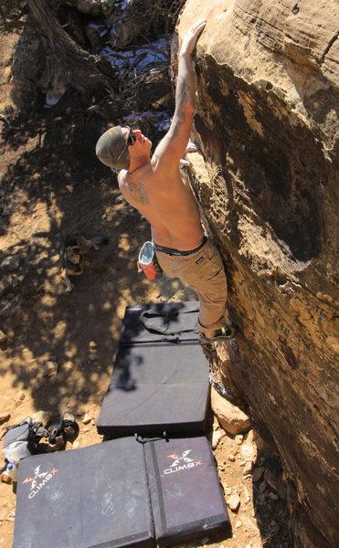 Rock Climbing Photo: Solar Collector