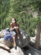 Rock Climbing Photo: bolder .