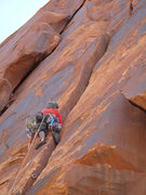 Rock Climbing Photo: getting in to the grind of #5's for day's