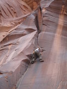 Rock Climbing Photo: ED low on the route #1's all day
