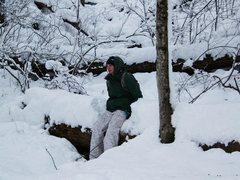 Rock Climbing Photo: Parfrey's glen Hike