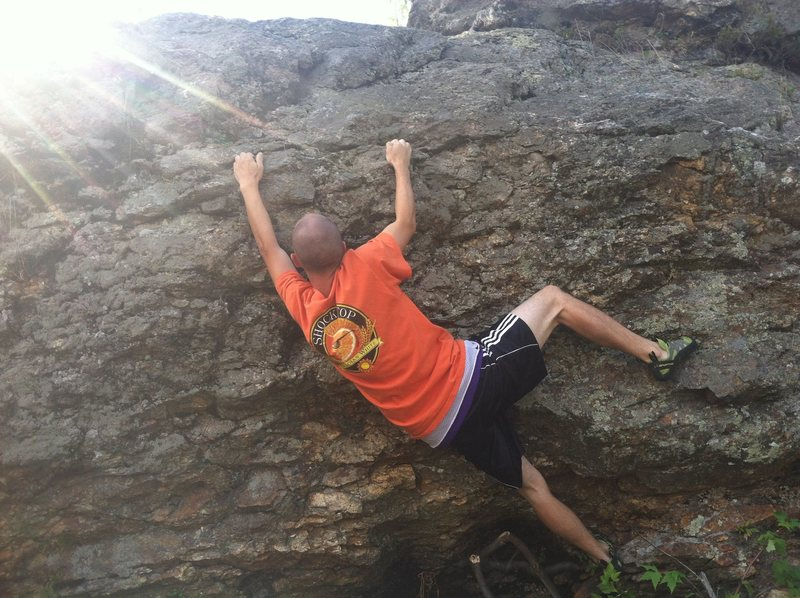 Rock Climbing Photo: River