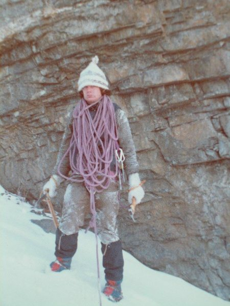 Rock Climbing Photo: 1973 ice