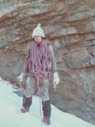 Rock Climbing Photo: 1973 ice
