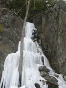 Rock Climbing Photo: Driplet in fat but slightly rotten conditions, ear...