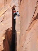 Rock Climbing Photo: dive back in! don't shit the bead er you will go a...