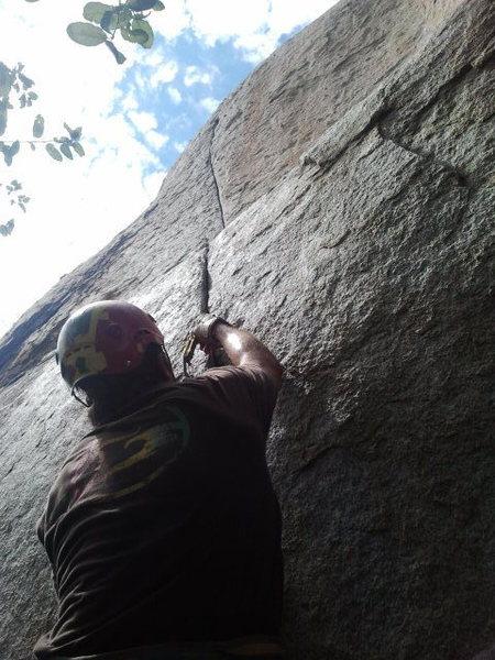 Rock Climbing Photo: Lie Detector, Mt. Woodson