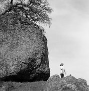 Rock Climbing Photo: Big ol boulder, good fun climb. Photo by mark somm...