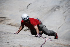 Rock Climbing Photo: fun granite smearing