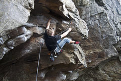 Rock Climbing Photo: Obi Wan Ryobi - Darth Vader Crag, Rumney NH