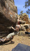 "Rock Climbing Photo: The ""Dynamic"" part of the problem Dynami..."