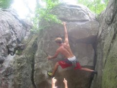 Rock Climbing Photo: Horse pens 40. Can't recall the route name, if any...