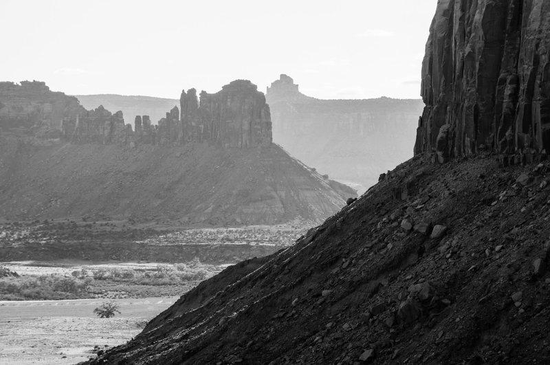 Rock Climbing Photo: The Bridger Jacks. photo by Braden Gunem