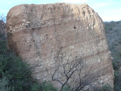 Rock Climbing Photo: Briscoe County Boulder, from the north.