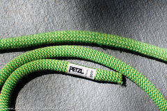 Rock Climbing Photo: Petzl Rope Fray