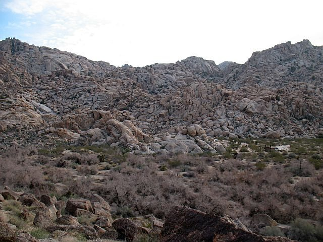 Rattlesnake Canyon from the Tuolumne Boulder, Joshua Tree NP