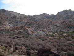 Rock Climbing Photo: Rattlesnake Canyon from the Tuolumne Boulder, Josh...