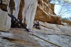 Rock Climbing Photo: Patrick again