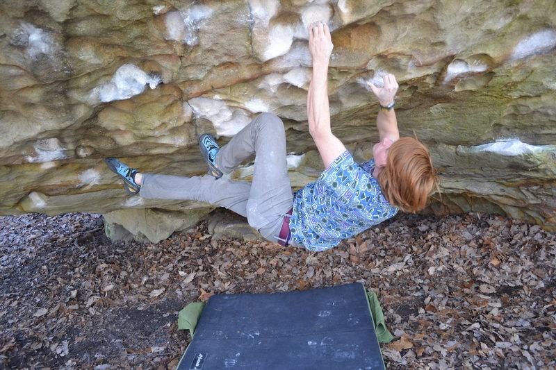Rock Climbing Photo: Sweet problem!