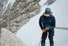 Rock Climbing Photo: Descending Cox Col (Bear Creek Spire). Photo by Ry...