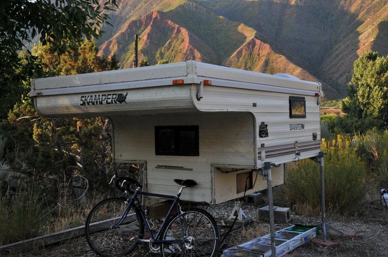 Rock Climbing Photo: camper on jacks