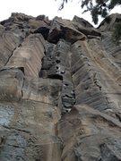 Rock Climbing Photo: Sweet China plate jugs!