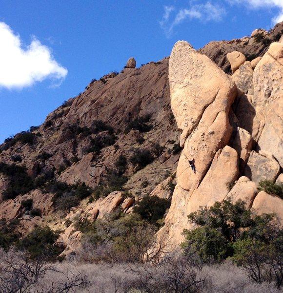 Rock Climbing Photo: Nightstalker.