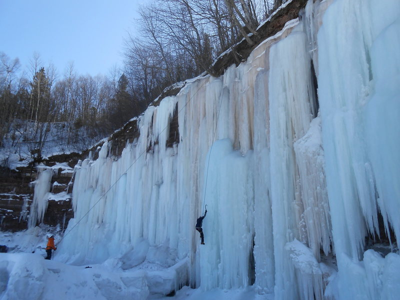 Rock Climbing Photo: Big Red, Winter 2013