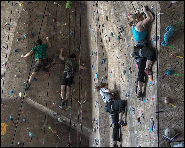 Stout Adventures<br> UW-Stout Climbing Gym<br>