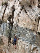 Rock Climbing Photo: Three Kings (5.10a), Frustration Creek