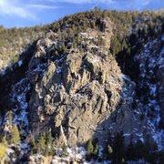 Rock Climbing Photo: Vampire Rock.