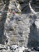 Rock Climbing Photo: a third of the way up Trundle Trophy