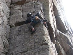 Rock Climbing Photo: Cracked Canyon